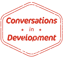 Conversations in Development Logo
