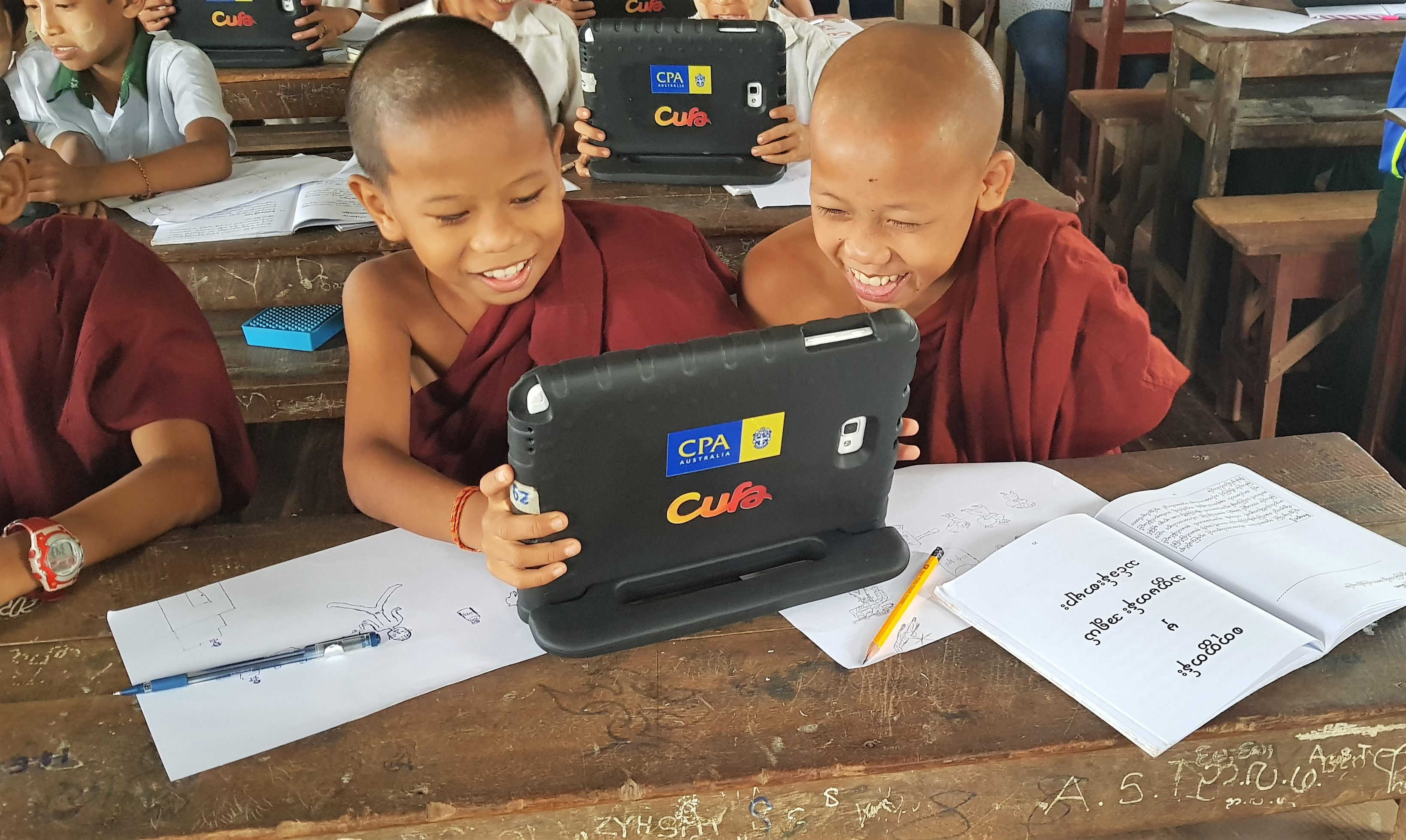 CFL teaches over 100,000 students Myanmar