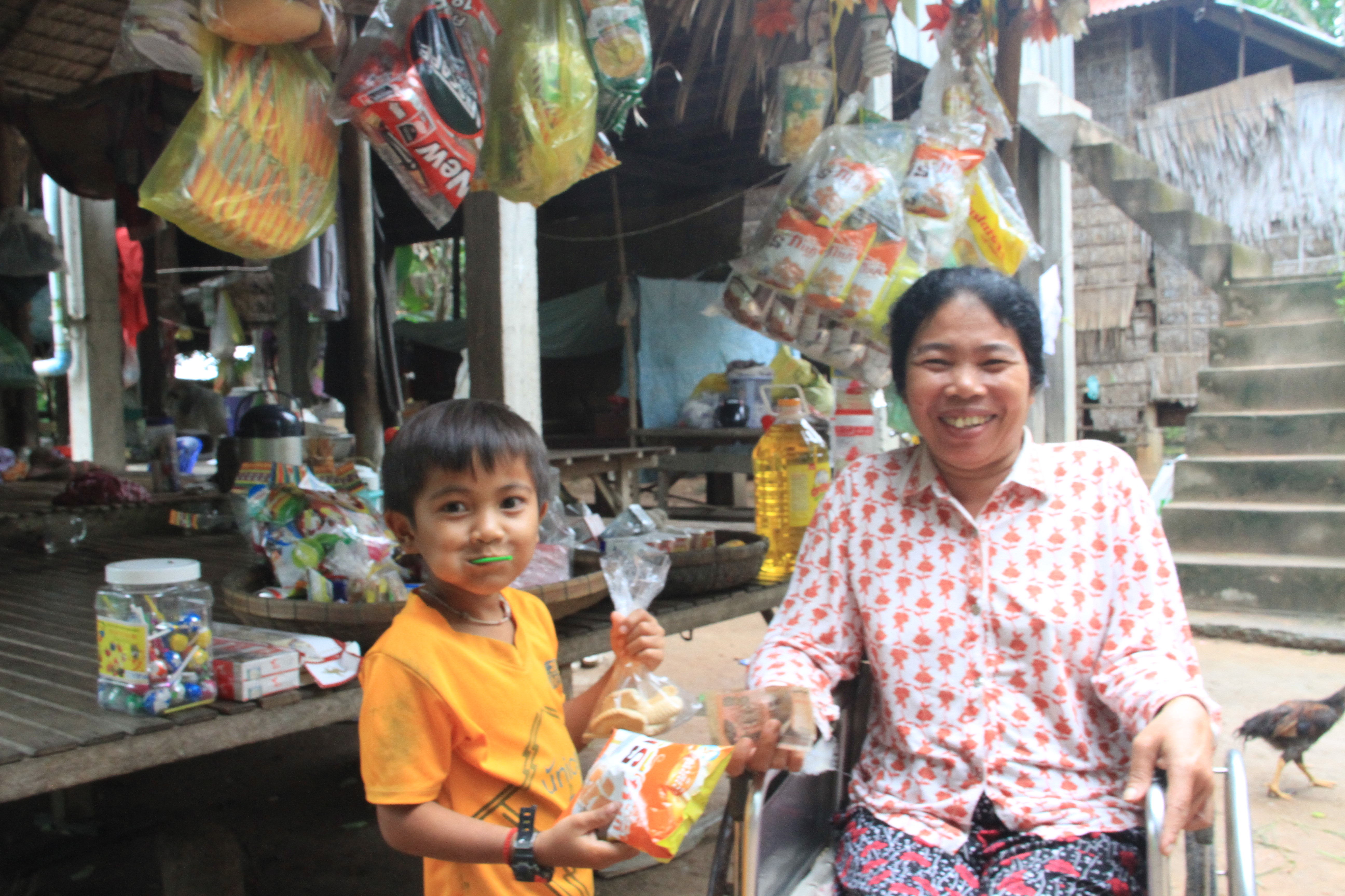 Women with Disabilities Sokhorn's Business Success business